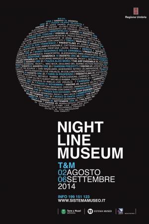 Night Line Museum è un progetto curato dal circuito museale Terre & Musei